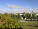 This is a view from the 3rd floor of CCI.