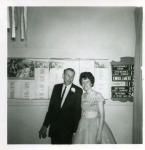 Grad Dance 1961 - Sharon Donelly & Gerry Goodfellow