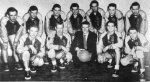 1954 Senior Boys' BasketballF: Scott Mackay, Bob Davis, Mr. Biddell, Don Deydey, Owen TelferB: Dale O'Shaughnessy, Way