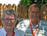 Carol & Wolf Sawatzki made one of their travelling stops in Moose Jaw
