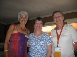 Friends since they were 5:  Mary Livingston, Pam Graham, Ruth Groome